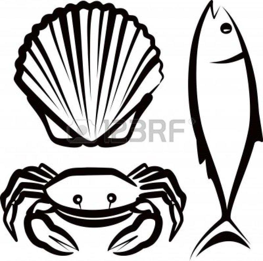 medium resolution of seafood clipart