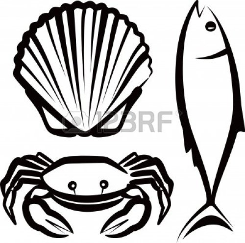 small resolution of seafood clipart