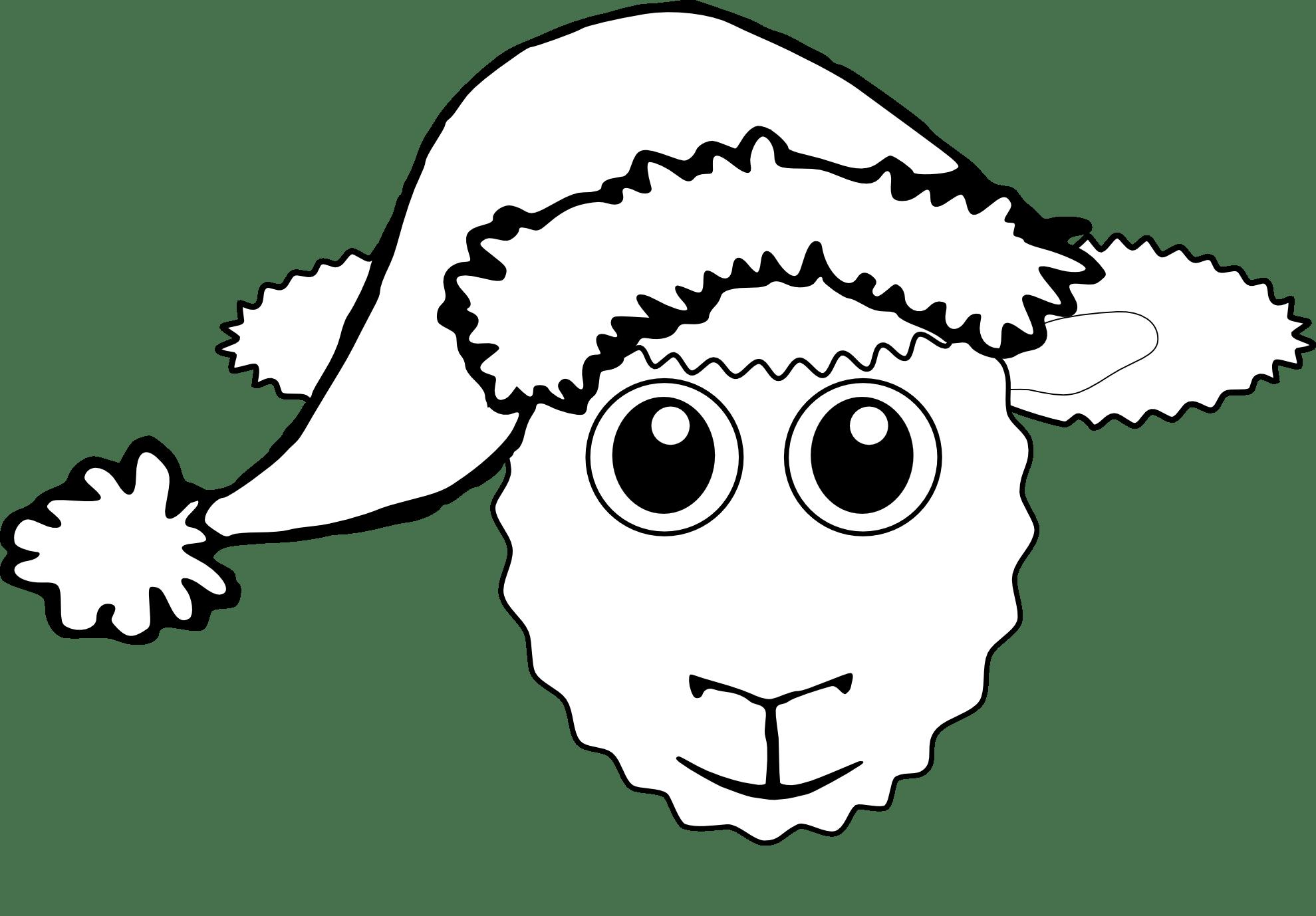 Lamb Face Clip Art Clipart Panda