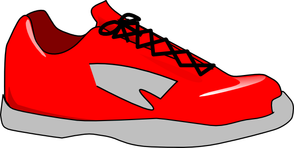 shoe clip art border clipart