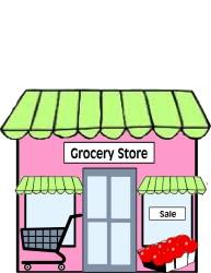 clipart cartoon grocery supermarket categories
