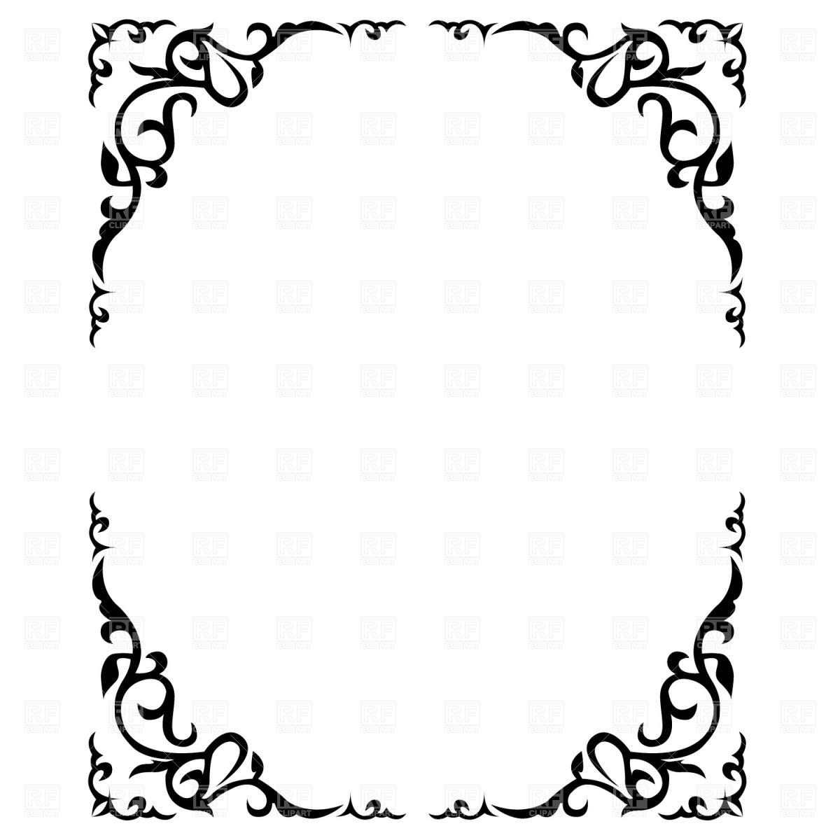 Picture Frame Clip Art Free Clipart Panda