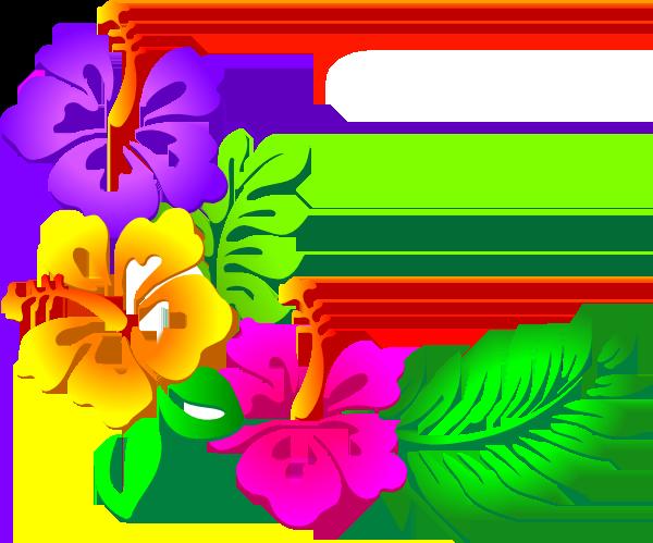 hawaiian luau clip art clipart