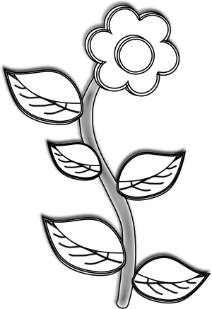 simple clipart drawing plant easy flower nice drawings sunflower fall plants cliparts transparent jalapeno clip panda drawn flowers pencil mum