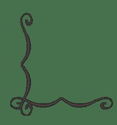 simple corner border clipart [ 1324 x 1272 Pixel ]