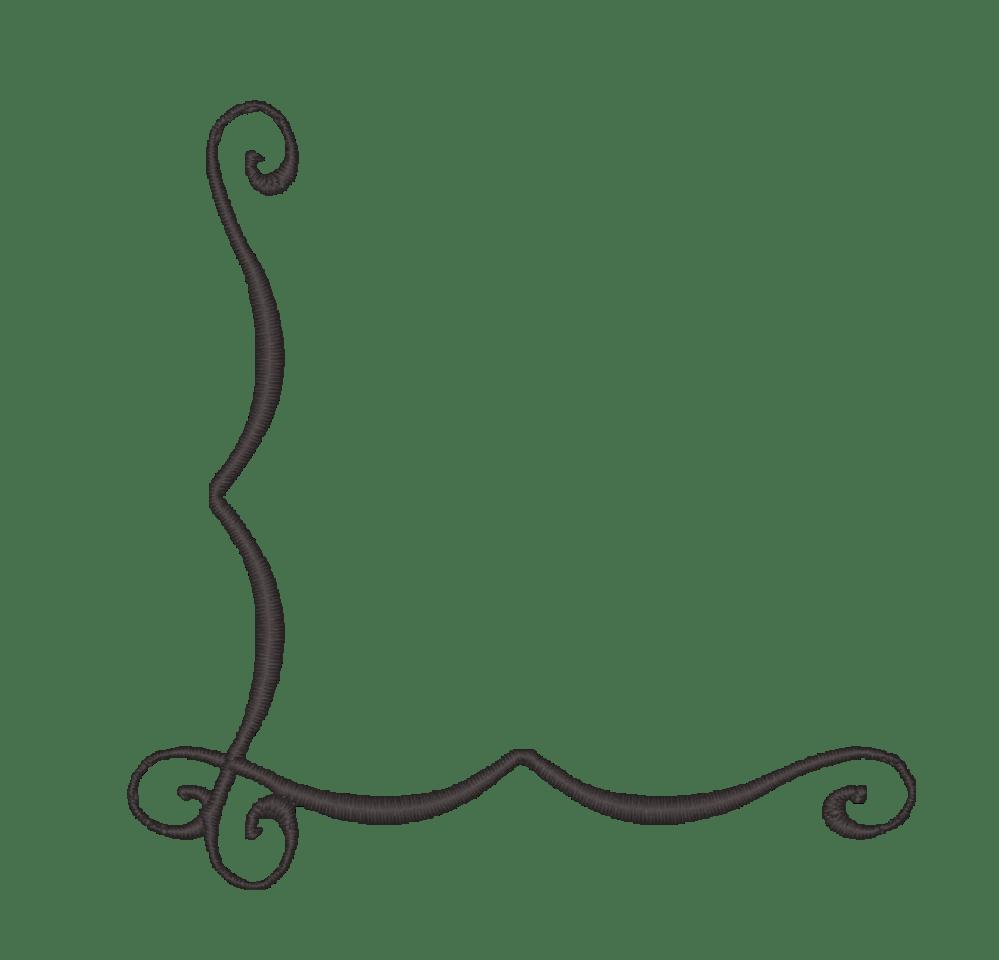 medium resolution of simple corner border clipart