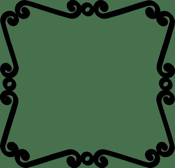 simple scroll clip art