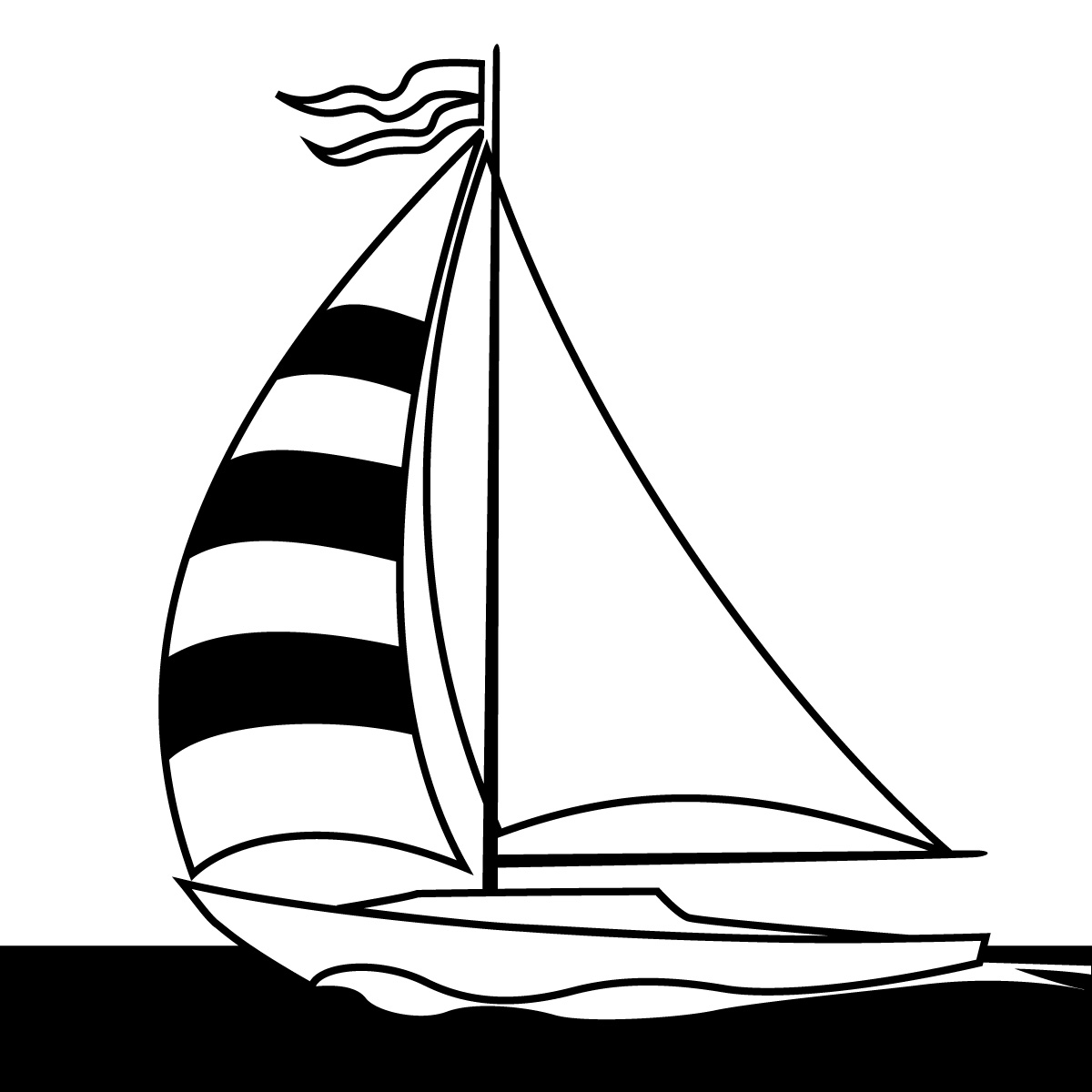 Easy Drawing Of Yacht Boat Drawing Easy Destiny Easy Boats To Draw