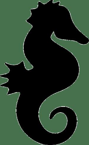 silhouette seahorse simple horse animal sea clipart clipartpanda silhouettes animals ocean clip svg tail vector terms