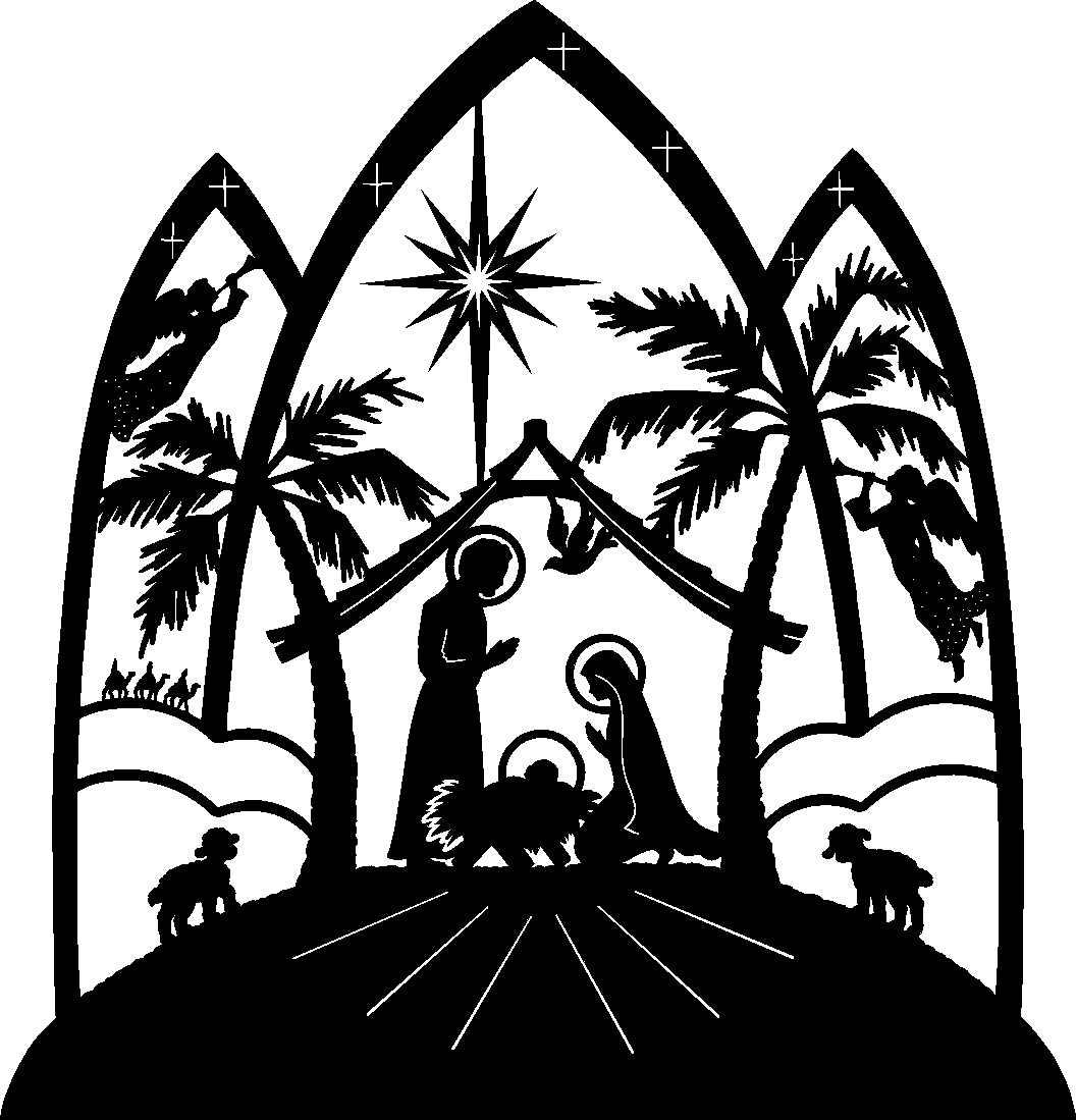 Christian Merry Christmas Clip Art