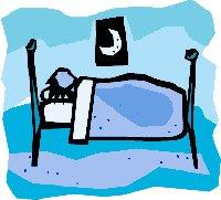 sleeping bed person clipart clipartpanda terms