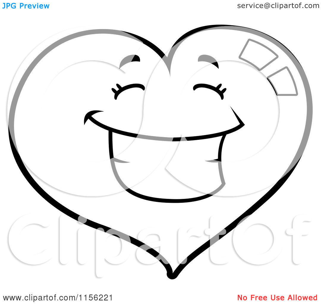 Unsure Smiley Face Black And White Clipart Panda