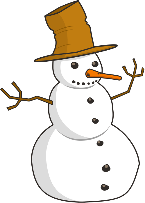 small resolution of snowman clipart