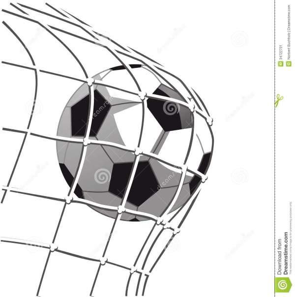 Soccer Net Goal Clipart Panda - Free