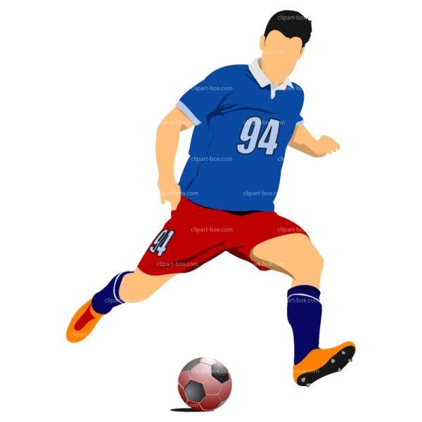 Soccer Football Player Clip Art