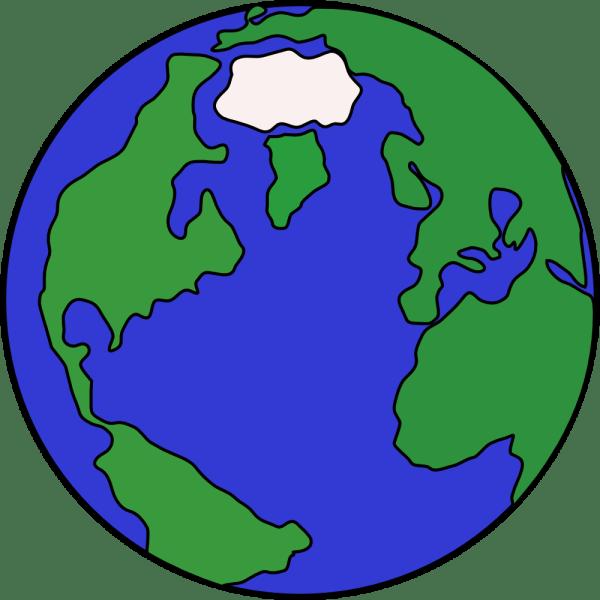 Cartoon Globe Clip Art