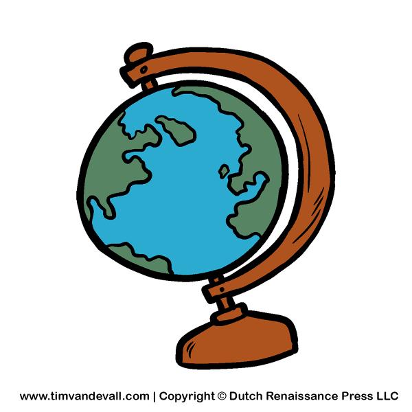 Social Studies Clip Art Globes