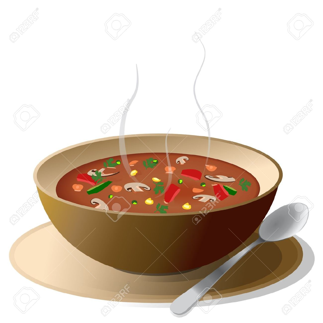 hight resolution of soup clipart