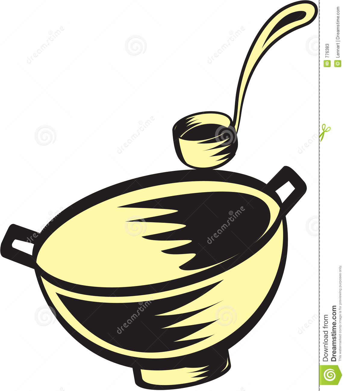 hight resolution of soup spoon clipart