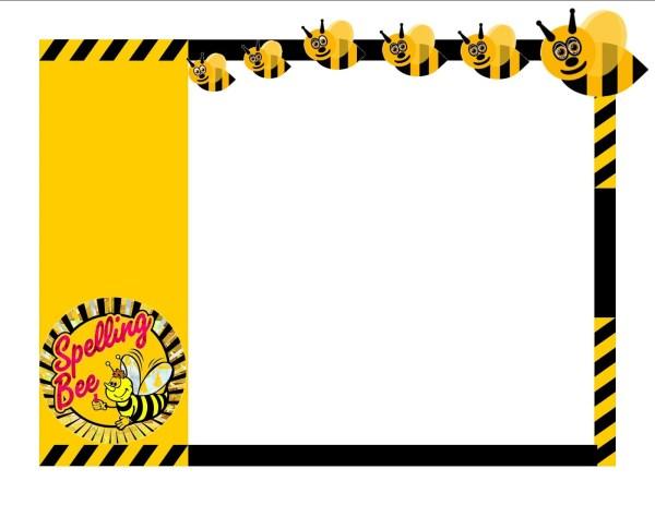 Spelling Bee Clip Art Borders