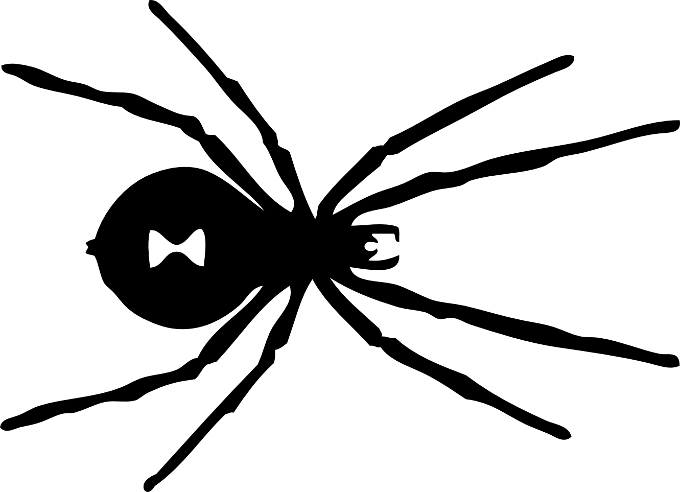 Spider Clipart Clipart Panda