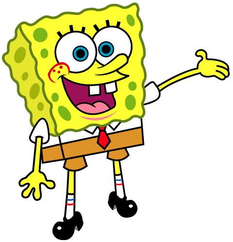 spongebob clip art valentines