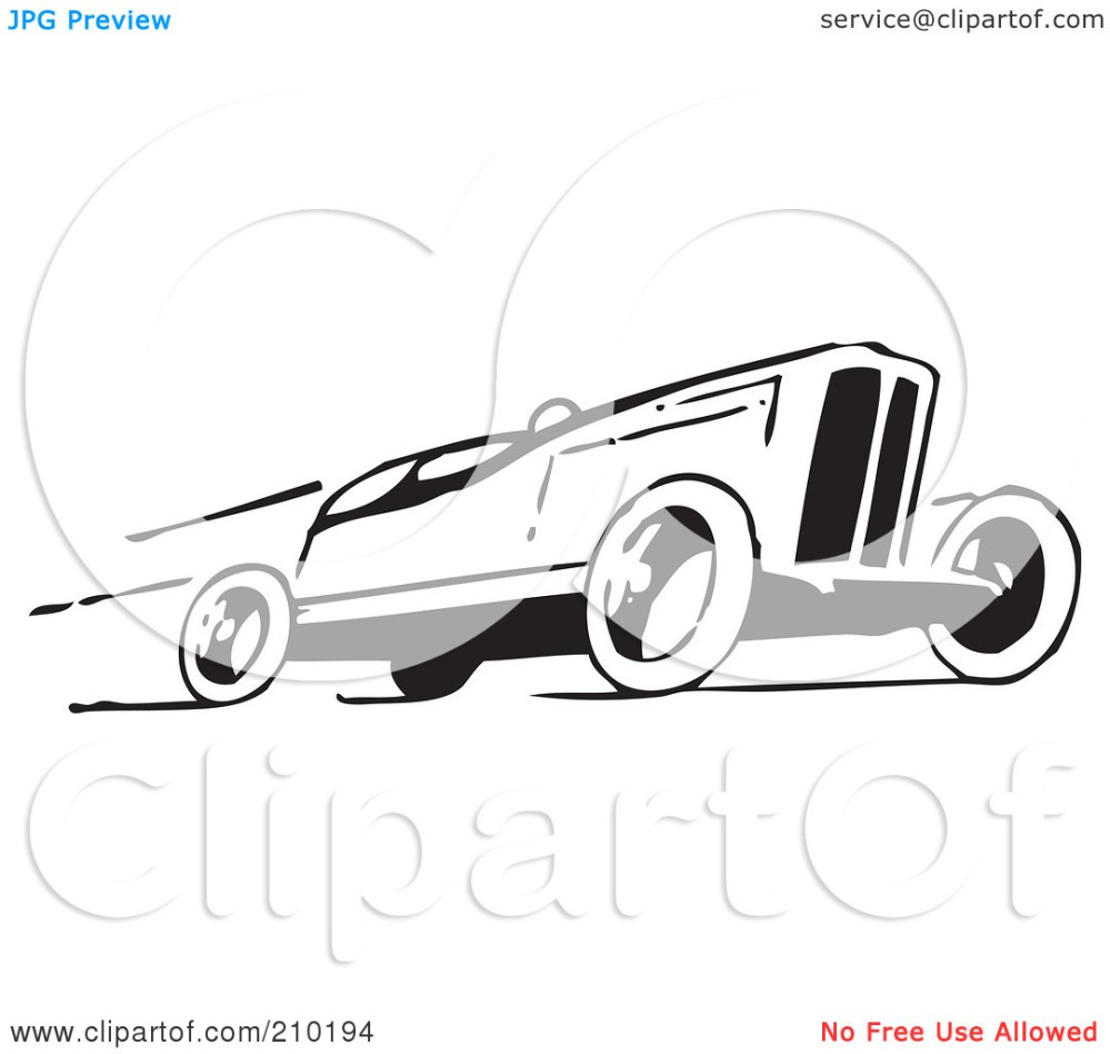 medium resolution of sports car clipart black and white