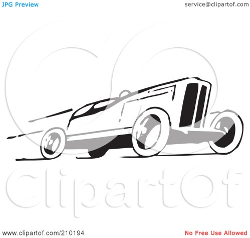 small resolution of sports car clipart black and white