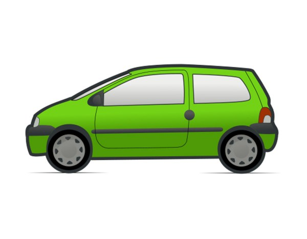 Sports Car Clipart Side View Panda - Free