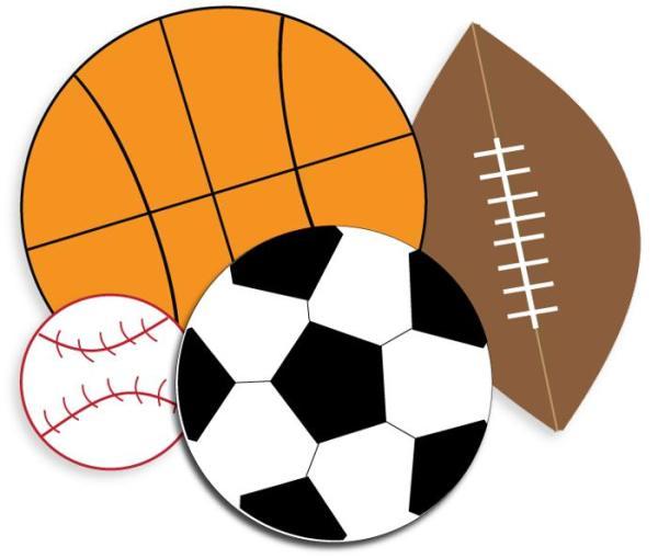 sports clipart kids