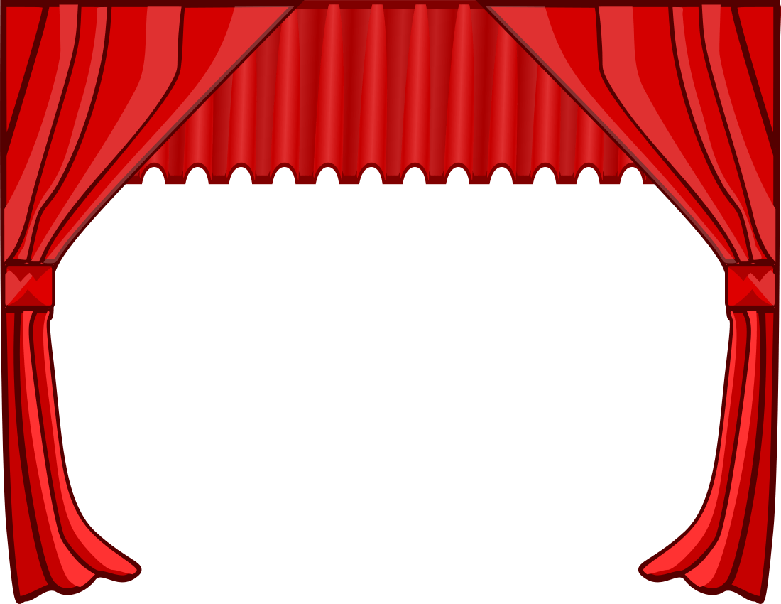 hight resolution of stage clipart