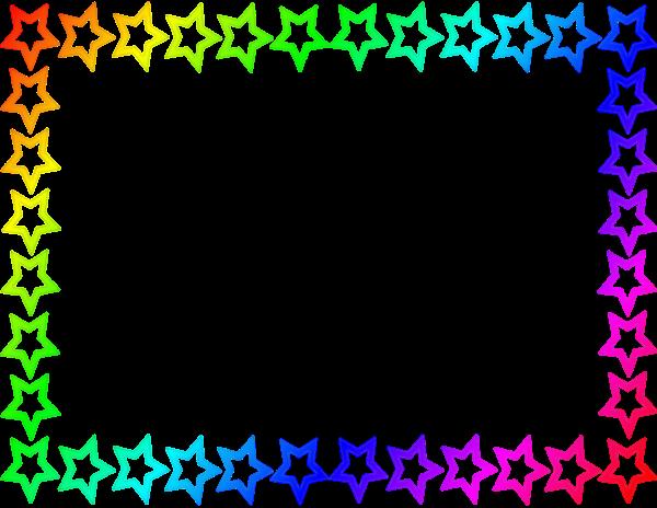 Star Border Clip Art