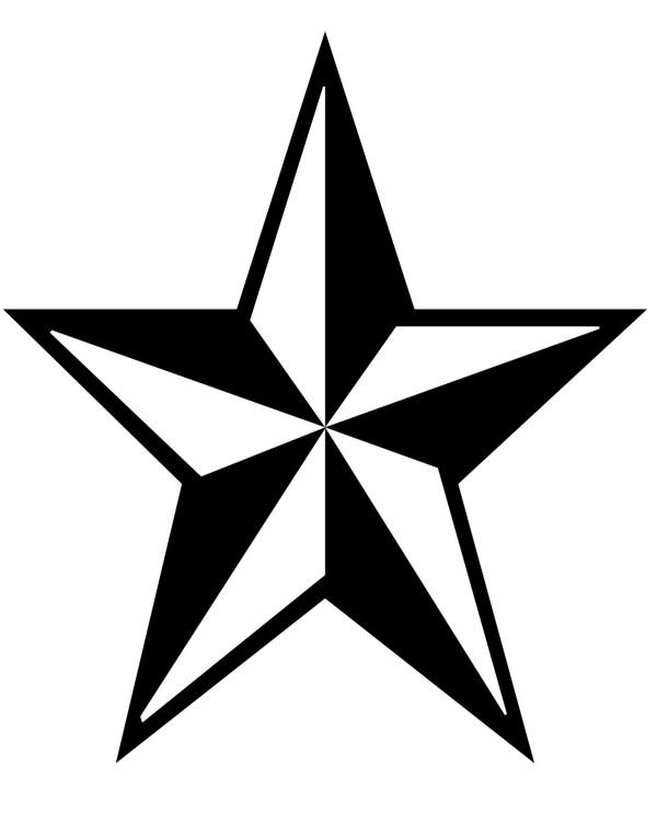 star clip art black and white