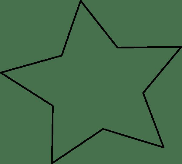 star sign outline clip art clipart