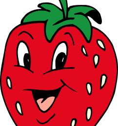 strawberry clip art [ 1714 x 2736 Pixel ]