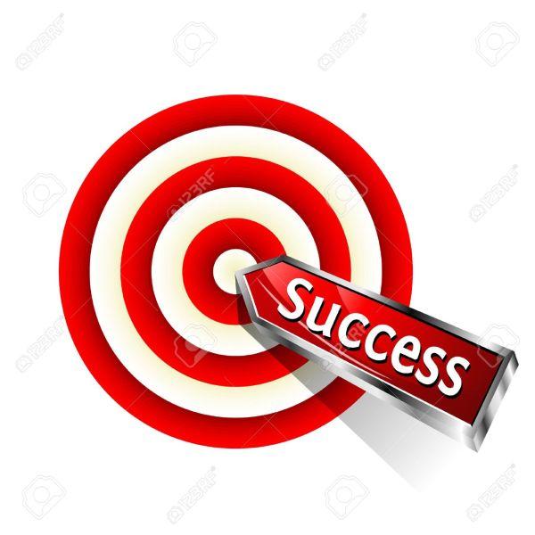 target success clipart #1
