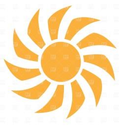 sun rays clipart [ 1200 x 1200 Pixel ]