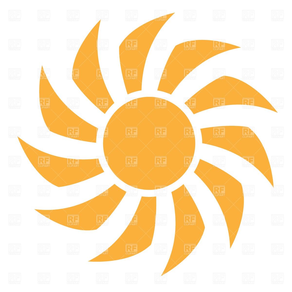 hight resolution of sun rays clipart