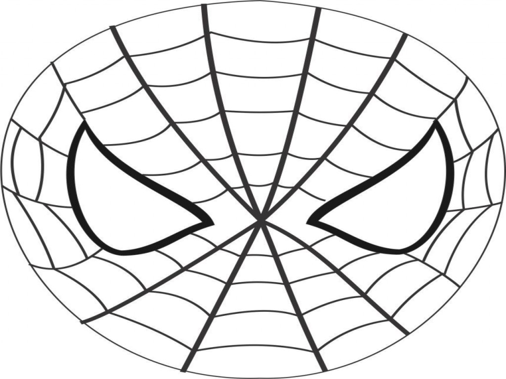 Superhero Coloring Pages Face Mask Coloring Pages