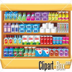 supermarket clipart shelf clipartpanda terms