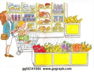 Supermarket Clipart 1