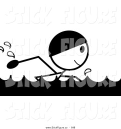 swimming clipart black and white [ 1024 x 1044 Pixel ]