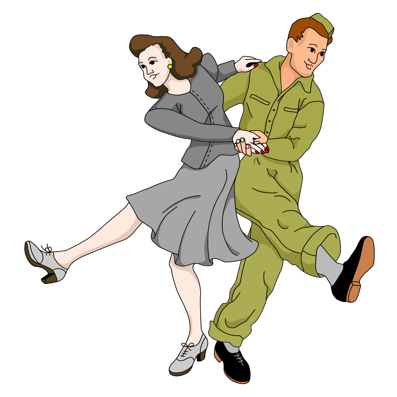 Image result for Couple Dancing ballroom Clip Art transparent