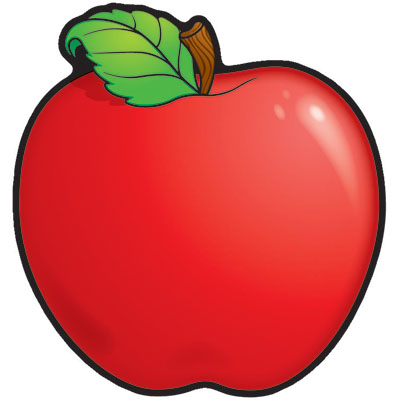 apple borders teachers clipart