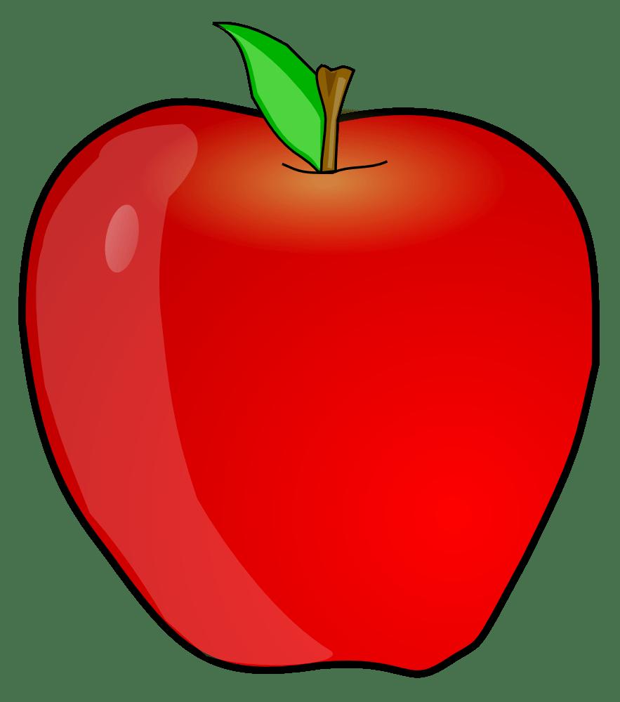 hight resolution of apple clip art