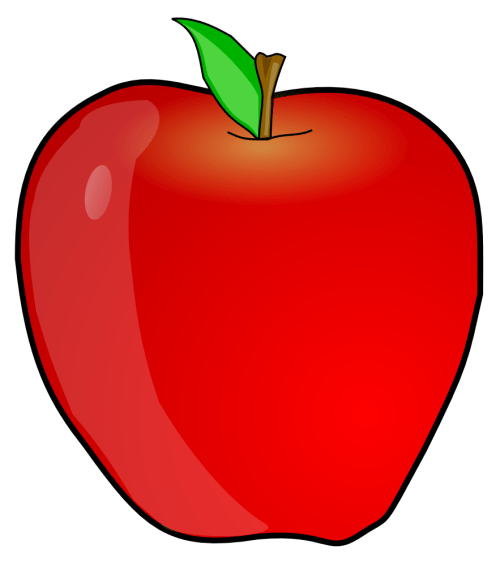 small resolution of apple clip art