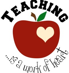 teacher apple clipart [ 1452 x 1600 Pixel ]