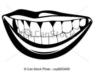 teeth clipart mouth advertisement