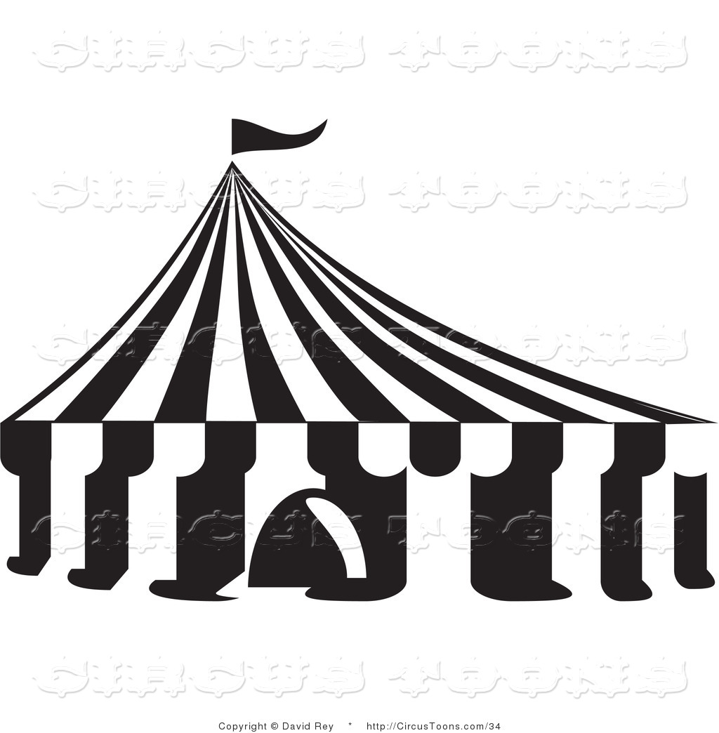 Tent Clipart Black And White Clipart Panda