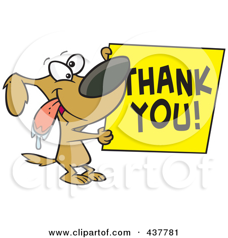 thank you clipart funny